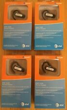 New listing Lot of 4: New At&T E220 Wireless Headset Bluetooth Universal