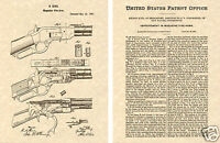 US PATENT of WINCHESTER 1873 REPEATING RIFLE Art Print READY TO FRAME!!!!!!!