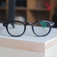 Retro Johnny Depp sunglasses frame mens tortoise  vintage taste clear lenses