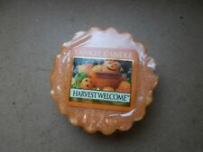 Yankee Candle USA RARE Harvest Welcome Tarte en cire.