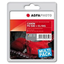 APCPG540-CL541XLSET-PG-540XL-CL-541XL CARTUCCE RIGENERATE AGFAPHOTO PER CANON PI