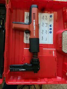 HILTI DX351 Powder Actuated Gun Tool with X-MX32 Magazine, Case, & Accessories