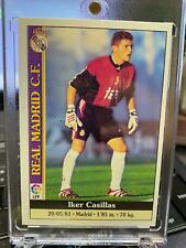 💥 💥 CASILLAS REAL MADRID rookie 1998 SPANISH STICKER 512 PSA 10 MINT ? 💥 💥