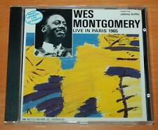 Wes Montgomery - Live In Paris 1965 - 1988 France's Concert CD FCD 108