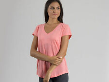 Abbigliamento sportivo da donna rosa in cotone taglia L
