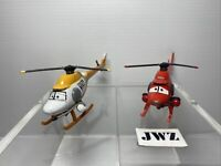 DISNEY PIXAR PLANES - Ron Hover CPSN & Cathy Copter RSN HELICOPTERS Bundle - 🚁