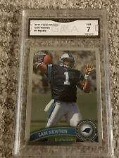 2011 Topps Chrome Cam Newton -  New England Patriots GMA 7