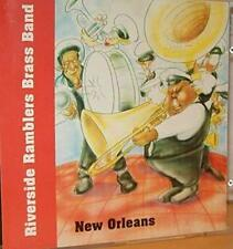 Riverside Ramblers Brass Band: New Orleans w/ Artwork MUSIC AUDIO CD instruments