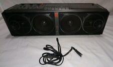 "Magnavox D 8347 Cubooster Boombox AM FM Stereo Cassette ""Parts Or Repair"""
