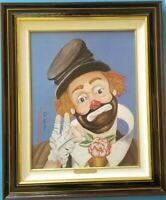 """Red Skelton Litho -Signed- """"NO PLACE TO GO"""" -1213/5000 W/COA framed 24.5 x 20.5"""