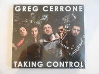 GREG CERRONE : TAKING CONTROL (+ REMIXES)    CD NEUF ! PORT 0€