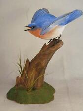 Eastern Bluebird Original Bird Wood Carving