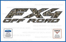 05 - 08 Ford FX4 Off Road Predator Camo Deception 3D Decals Stickers 4x4 set