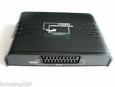 Genuine LENKENG LKV382 HDMI to SCART VideoConverter Box Composite PAL AV Adapter