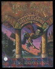 Rowling, J. K. - Harry Potter and the Sorcerer's Stone HB/DJ 1st/22nd (1998)