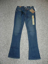 Young & Faded Jeans The Flirty Boot Size 3 INSEAM 33 NWD --HOLE NEAR BAND