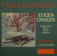 2erCD TCHAIKOVSKY - eugen onegin, Khaikin