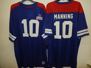 91001 NFL Team Apparel New York Giants ELI MANNING Hashmark Football JERSEY