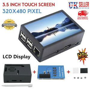 3.5in TFT Touch Screen LCD Display Case 320*480 For Raspberry Pi A B A+2B 3Bs1