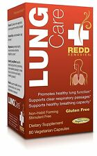 Redd Remedies - Lung Care Promotes Breathing Ease and Healthy Lungs 80 count