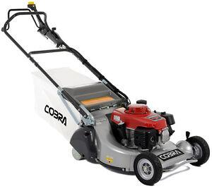 "Cobra RM53SPH-PRO 22""/53cm Honda Rear Roller Lawn Mower New Pro Grass Lawnmower"