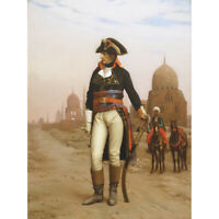 Gerome Napoleon Bonaparte In Egypt Painting Canvas Art Print Poster