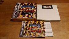 Super Street Fighter II 2 Turbo Revival Game Boy Advance GBA OVP Boxed