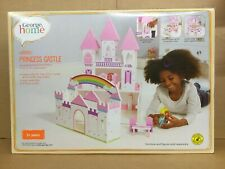 BRAND NEW George Home Wooden Princess Castle
