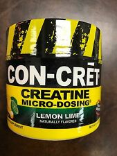 CON-CRET 72  servings  BEST Creatine HCL Micro Dosing lemon lime CONCRET