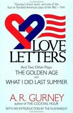 Love Letters and Two Other Plays: The Golden Age, What I Did Last Summer (Plume