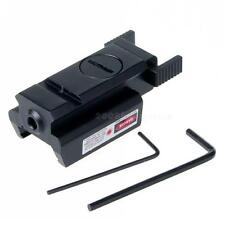 Red Dot Laser Sight Weaver Rail Mount 20mm For Picatinny Gun Compact Hunt MSYG