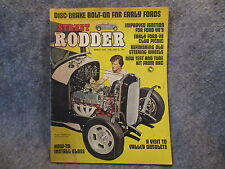 Street Rodder Magazine March 1973 Vol. 2 No. 3 How To Install Glass Vintage Z782