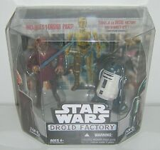 Star Wars Droid Factory 2 Pack Plo Koon & R4-F5 Legacy Walmart Exclusive