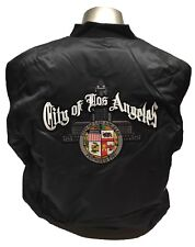 City Of Los Angeles Seal Jacket Size XL Color Black