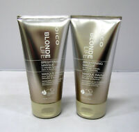 2 X Joico Blonde Life Brightening Masque 5.1 oz ea Mask Tones Hydrate Detox Hair