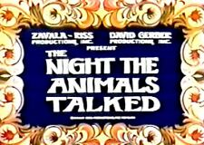 The Night the Animals Talked 1970(TV) and The Little Brown Burro region free DVD