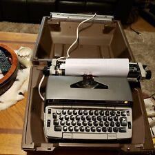 Smith Corona Electra 220 Electric Typewriter With Case Tested Working Read Des