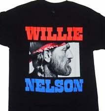 WILLIE NELSON T-SHIRT Funny Birthday Cotton Tee Vintage Gift For Men Women