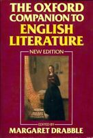 The oxford companion of English literature - Collectif - Livr - 221801 - 2566430