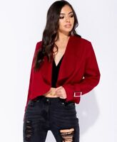 Womens Waterfall Long Sleeve Cardigan Sweater Poncho Shawl Coat Jacket Outerwear