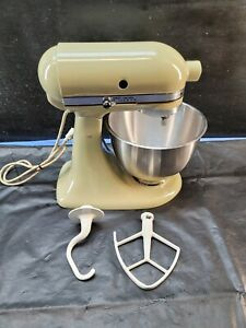 USA K45 Vintage Working KitchenAid 10 Speed Avocado Green stand mixer
