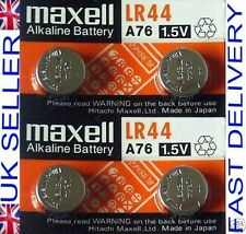 Maxell LR44 Single Use Batteries