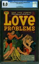 TRUE LOVE PROBLEMS AND ADVICE ILLUSTRATED 20 CGC 8.0 OFF WHITE TO WHITE PAGES L2