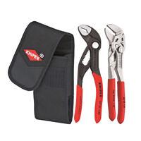 Knipex Mini Plier 2pc Set Wrench & Cobra 125mm Inc Pouch German Quality