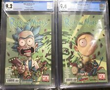Rick and Morty 41 & 42 Connecting Covers 🔥 CGC 🔥 Near Mint -