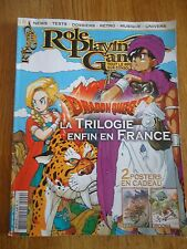 REVUE MAGAZINE ** ROLE PLAYING GAME n°9 ** JEUX VIDEOS RPG DRAGON QUEST FANTASY