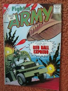 CDC Charlton comic Fightin' Army Nov 1962 vol 1 #49 very good Red Ball Express