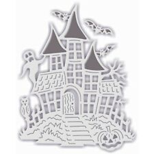 SWEET DIXIE CUTTING DIE - HAUNTED HOUSE Halloween ghosts