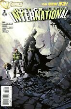 Justice League International #3 The New 52! Signed By Artist David Finch