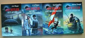 Der Butler 1- 4 komplett, Blitz-Verlag